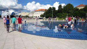 Zadar- Begrüssung der Sonne