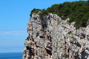 Kornati-Inseln-Felsenwand