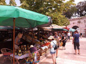 piac Zadar