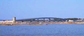 Vir szigetre vezető híd